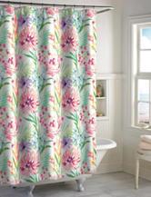 Destinations Tropical Floral Shower Curtain