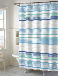 Style Lounge Aqua Shower Curtains & Hooks