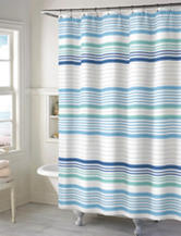 Style Lounge Multicolor Striped Print Shower Curtain
