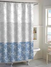 Destinations Starfish Shower Curtain