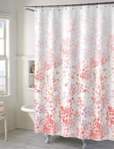 Style Lounge Coral Floral Shower Curtain