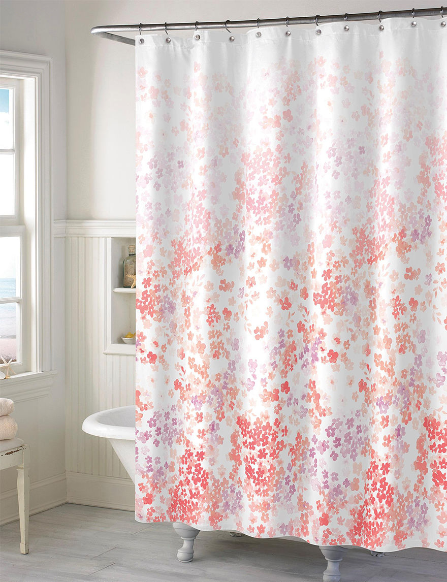 Style Lounge Floral Print Shower Curtain Stage Stores