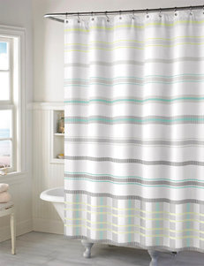 Style Lounge Baltic Striped Print Shower Curtain