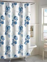 Destinations Octopus Shower Curtain