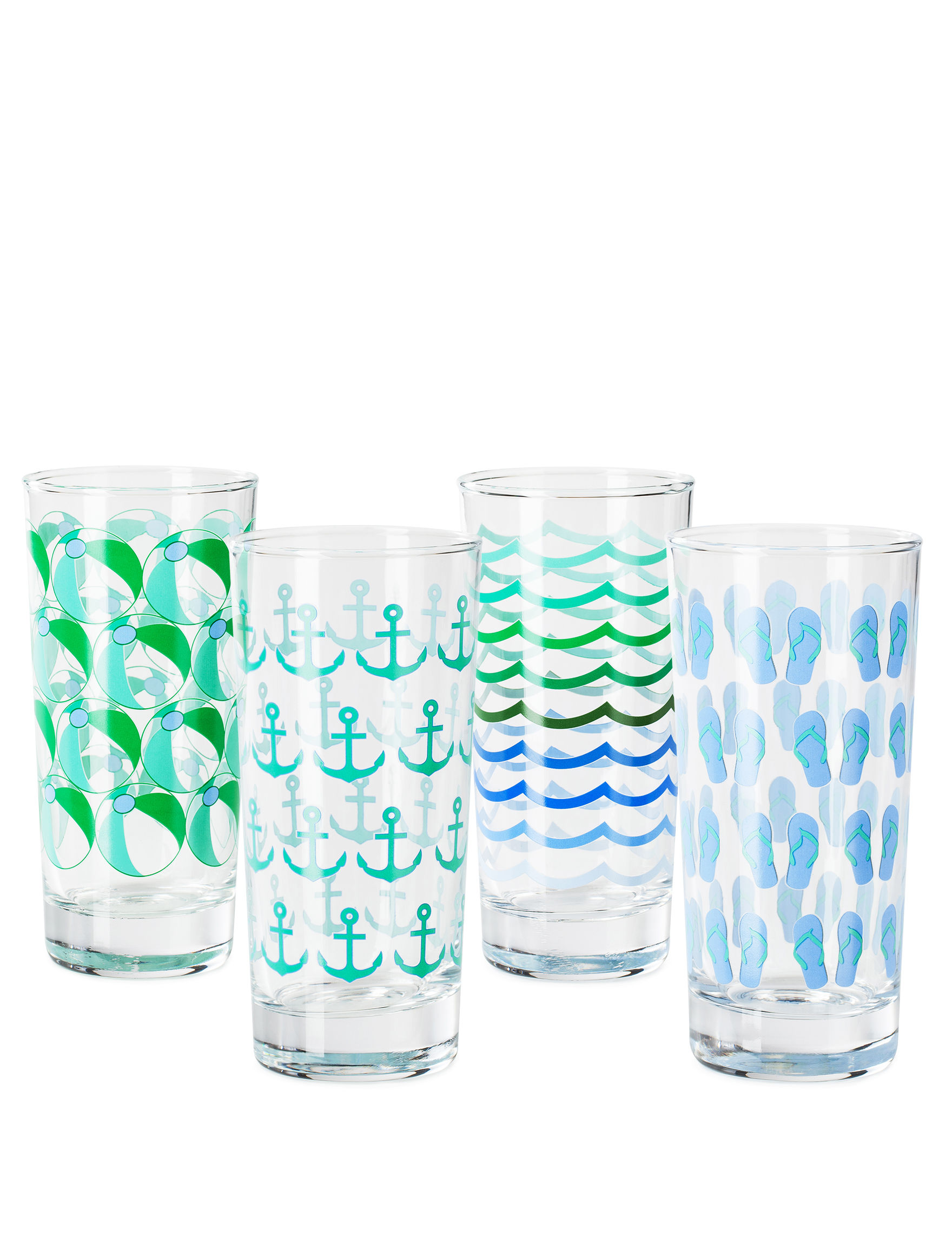 Circle Glass Clear Tumblers Drinkware