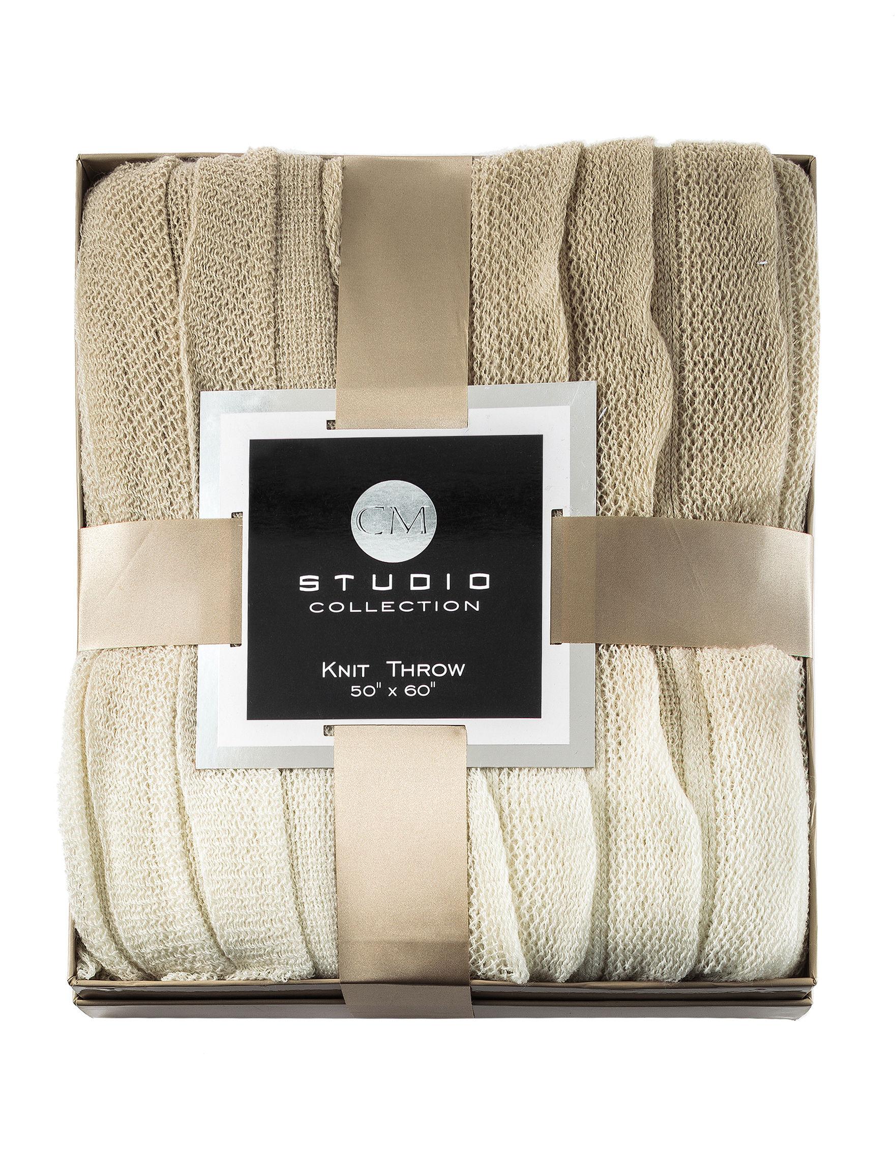 CM Studio Collection Mushroom Blankets & Throws
