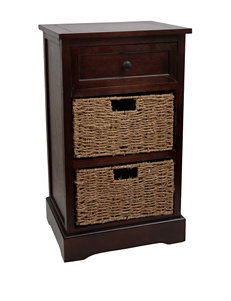 Decor Therapy Walnut Accent & End Tables Living Room Furniture