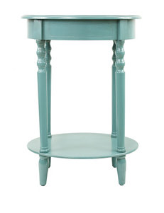 Decor Therapy Teal Accent & End Tables Living Room Furniture