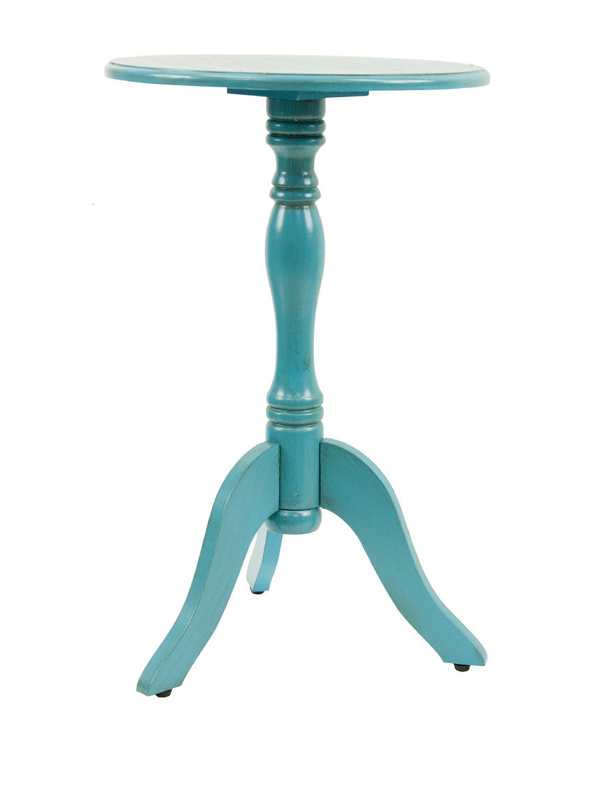 Decor Therapy Blue Accent & End Tables Living Room Furniture