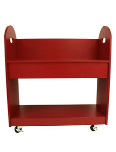 Decor Therapy Red Bookcases & Shelves Living Room Furniture
