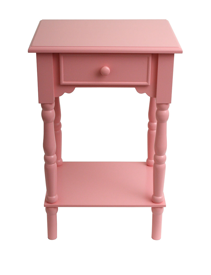 Decor Therapy Pink Accent & End Tables Living Room Furniture