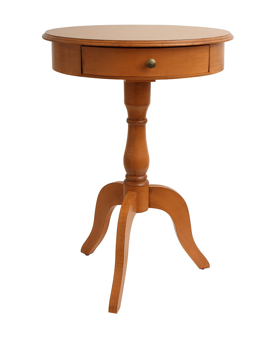 Decor Therapy Honey Accent & End Tables Living Room Furniture
