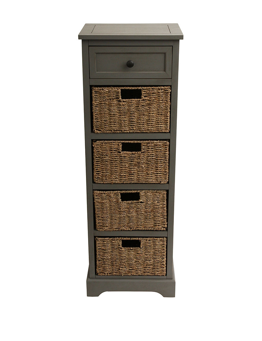 Decor Therapy Grey Accent & End Tables Living Room Furniture