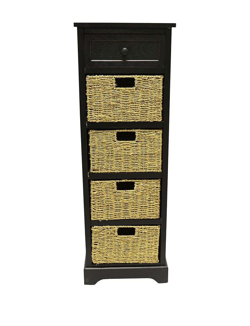 Decor Therapy Black Baskets Living Room Furniture