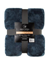 Great Hotels Collection Navy Throw