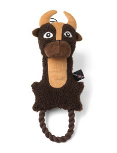PetRageous Bob the Buffalo Pet Toy