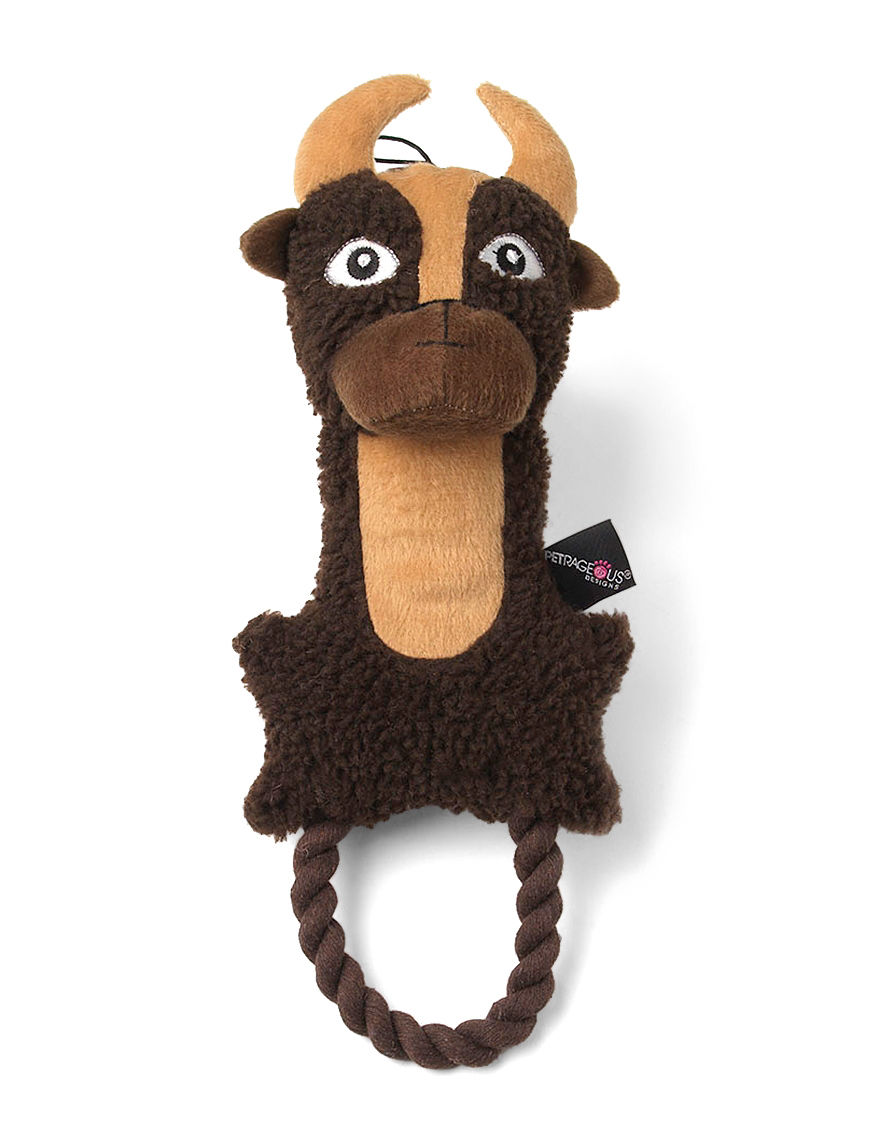 Petrageous Brown Pet Treats & Toys