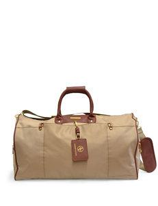Adrienne Vittadini Khaki Duffle Bags