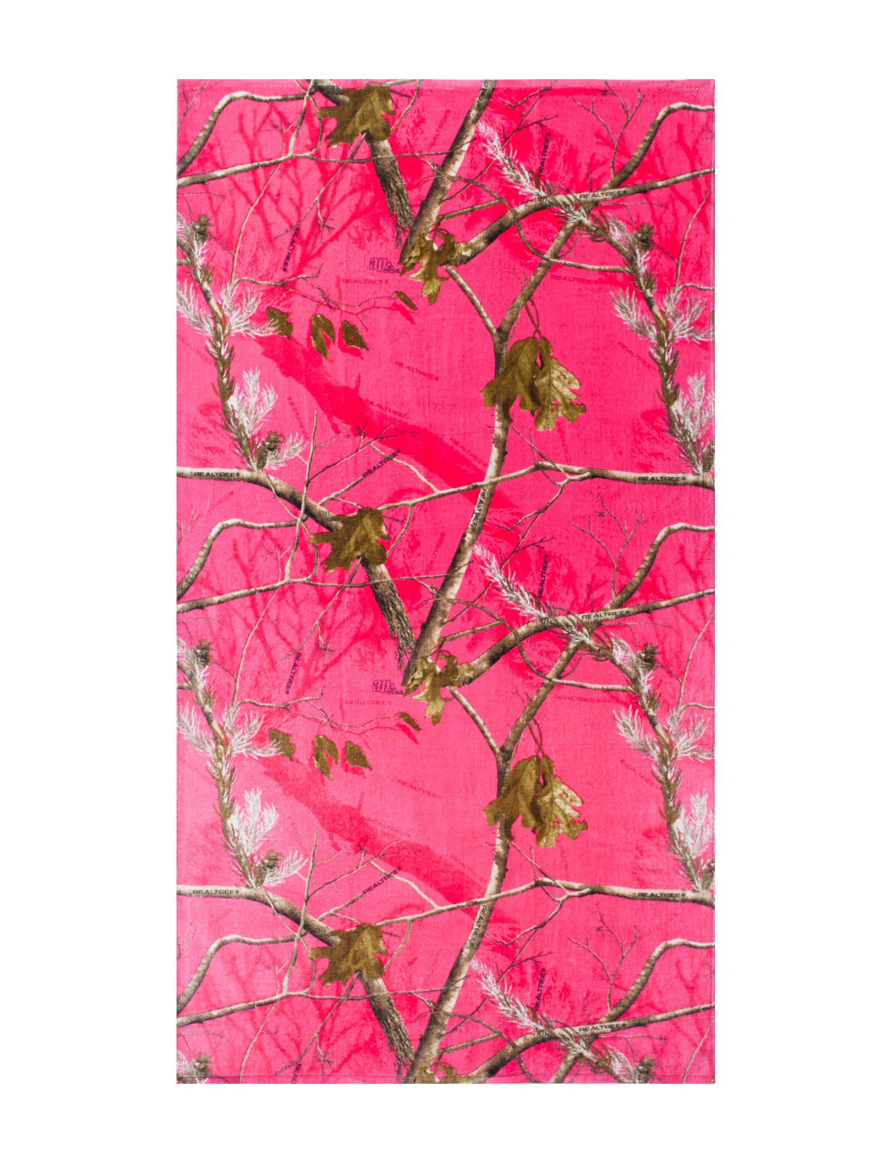 Realtree Pink Beach Towels Towels