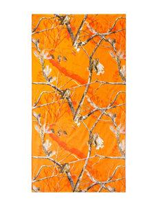 Realtree® Blaze Orange Camo Print Beach Towel