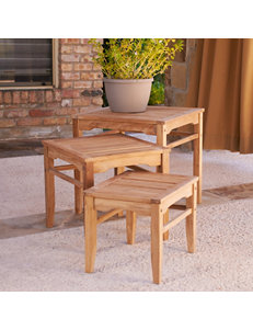 Southern Enterprises Tan Dining Tables Patio & Outdoor Furniture