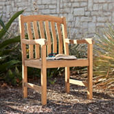 Southern Enterprises Gentry Teak Arm Chair