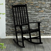 Southern Enterprises Hardwood Porch Rocker