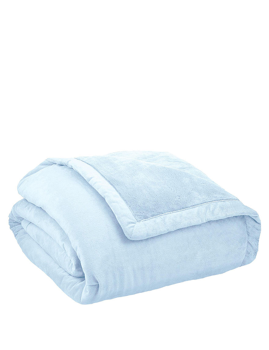 ComfortTech Light Blue Blankets & Throws