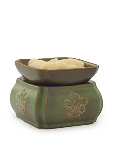 Candle Warmers Spring Damask Ceramic 2-in-1 Classic Fragrance Warmer