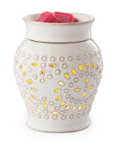 Candle Warmers Casablanca 2-in-1 Flickering Fragrance Warmer