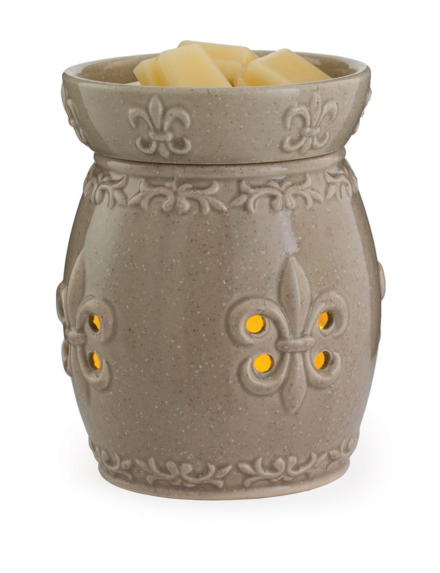 Candle Warmers Brown Candles & Candle Holders