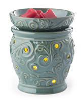 Candle Warmers Oceanside 2-in-1 Flickering Fragrance Warmer