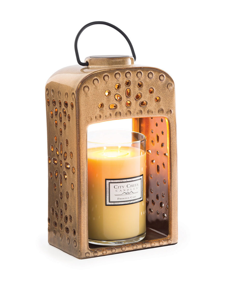 Candle Warmers Beige Candles & Candle Holders