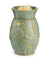 Candle Warmers Green Leaf Midsize Illumination Fragrance Warmer
