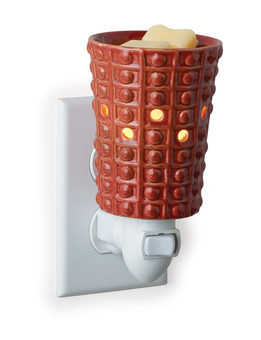 Candle Warmers Red Candles & Candle Holders