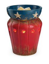 Candle Warmers Americana Illumination Fragrance Warmer