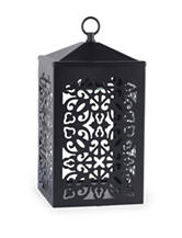 Candle Warmers Black Scroll Candle Warmer Lantern