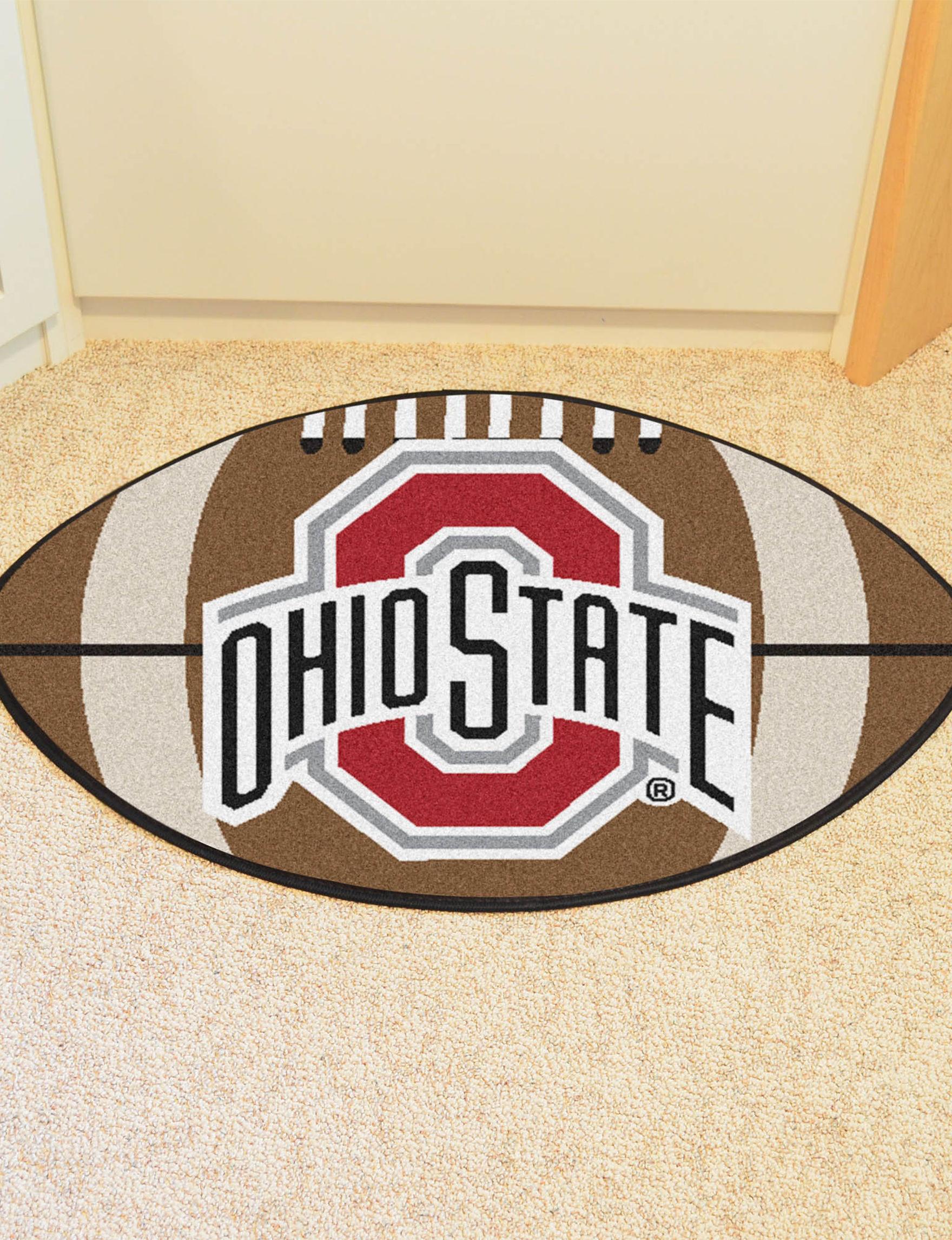 Fanmats Brown Accent Rugs Outdoor Rugs & Doormats NCAA Outdoor Decor Rugs