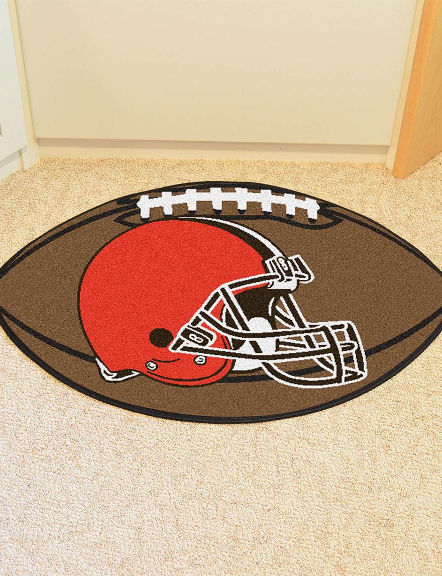 Fanmats Brown Outdoor Rugs & Doormats NFL Outdoor Decor Rugs
