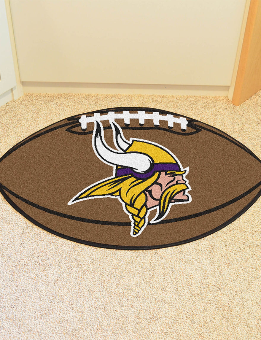 Fanmats Brown Accent Rugs Outdoor Rugs & Doormats NFL Outdoor Decor
