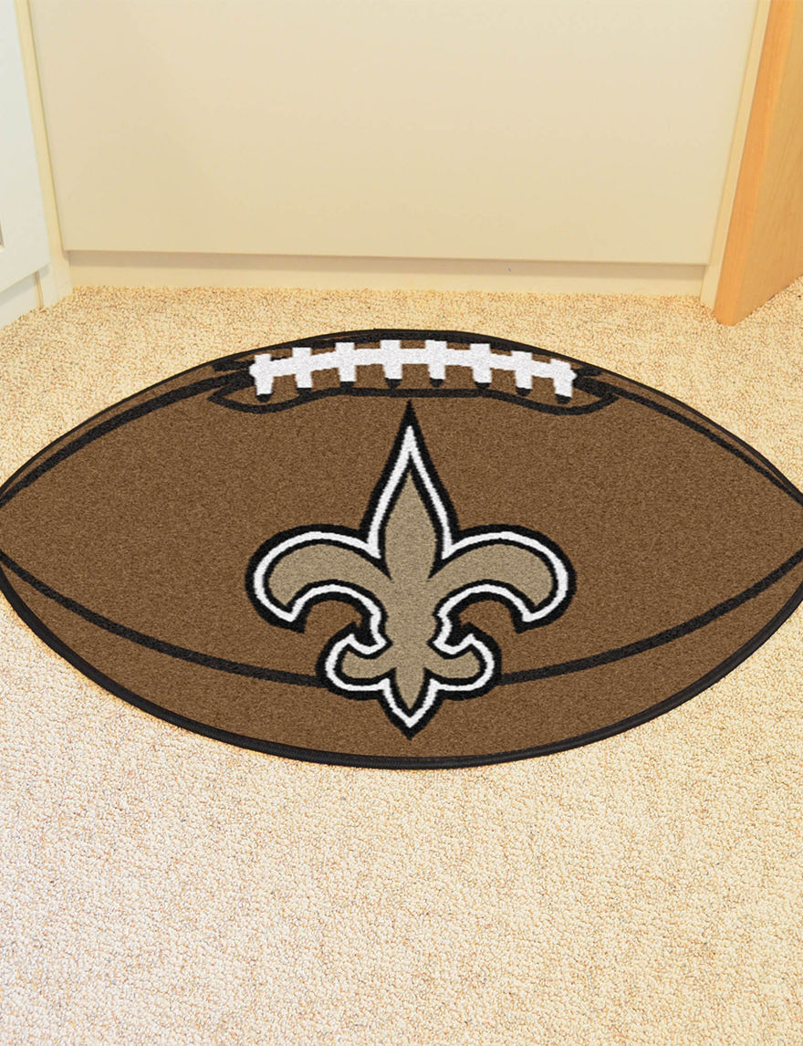 Fanmats Brown Accent Rugs