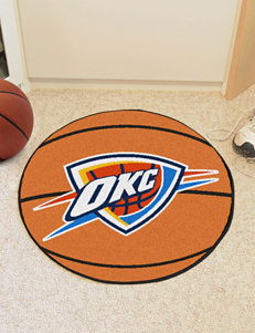 Oklahoma City Thunder Basketball Mat