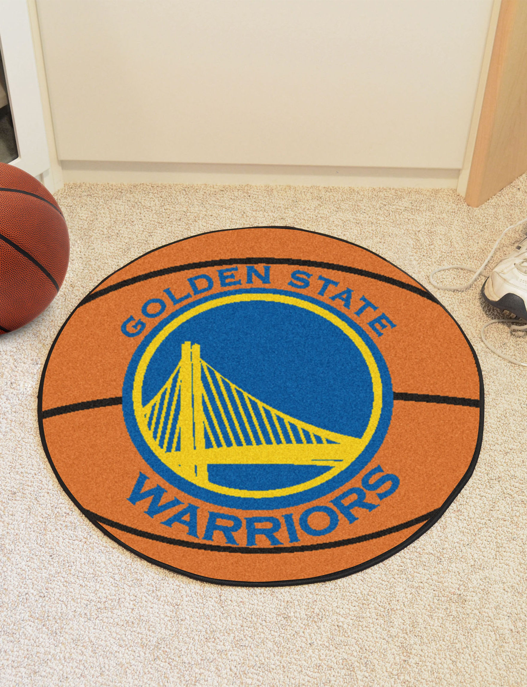 Fanmats Orange Accent Rugs NBA Rugs