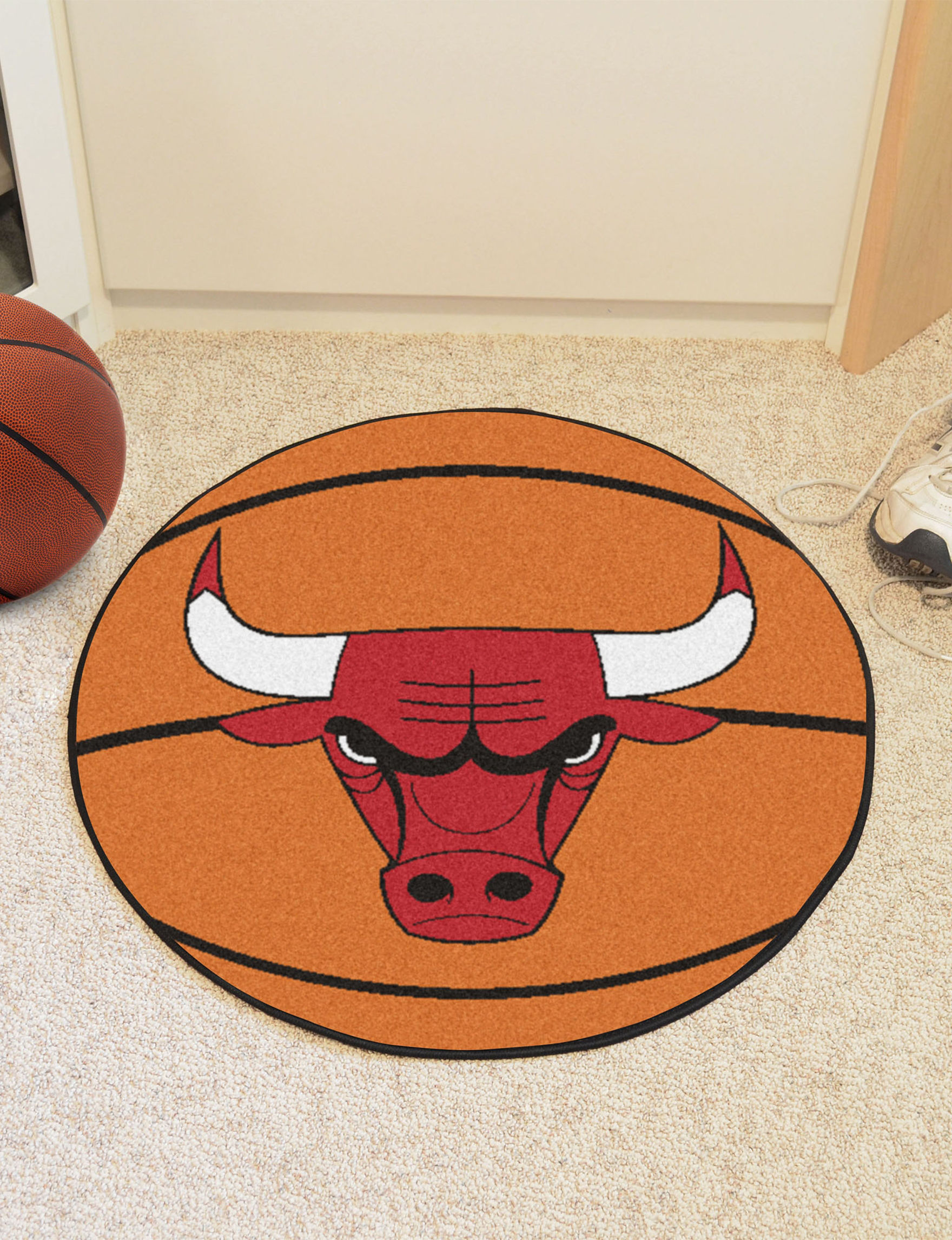 Fanmats Orange Accent Rugs NBA Rugs
