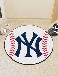 Fanmats Orange Accent Rugs Outdoor Rugs & Doormats MLB Outdoor Decor Rugs