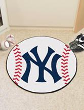 New York Yankees Baseball Mat