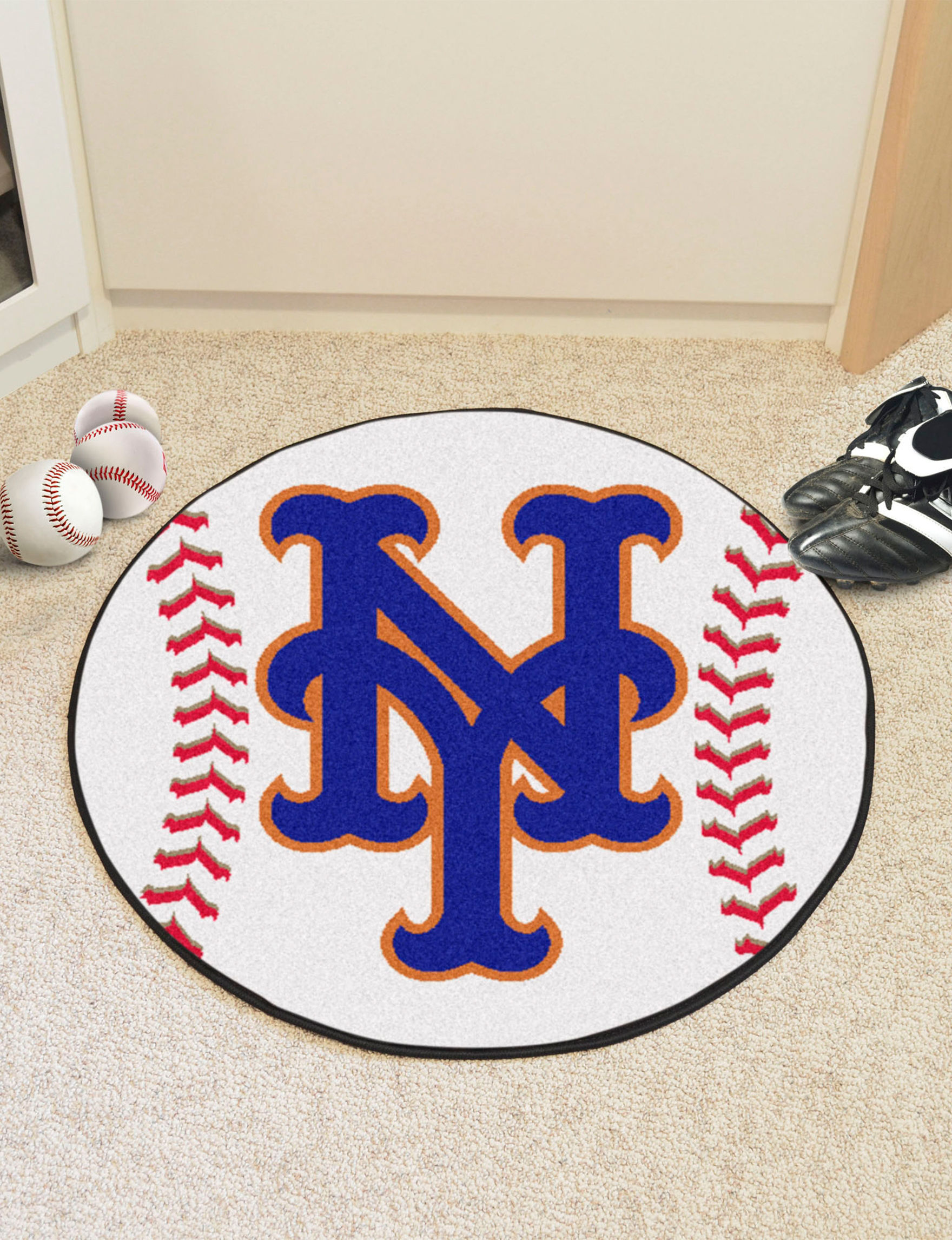 Fanmats Orange Accent Rugs Outdoor Rugs & Doormats MLB Rugs