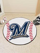 Milwaukee Brewers Baseball Mat