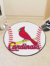 St. Louis Cardinals Baseball Mat