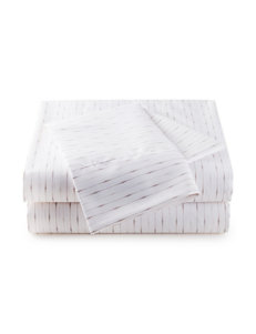 Great Hotels Collection Grey Dot & Striped Print Sheets